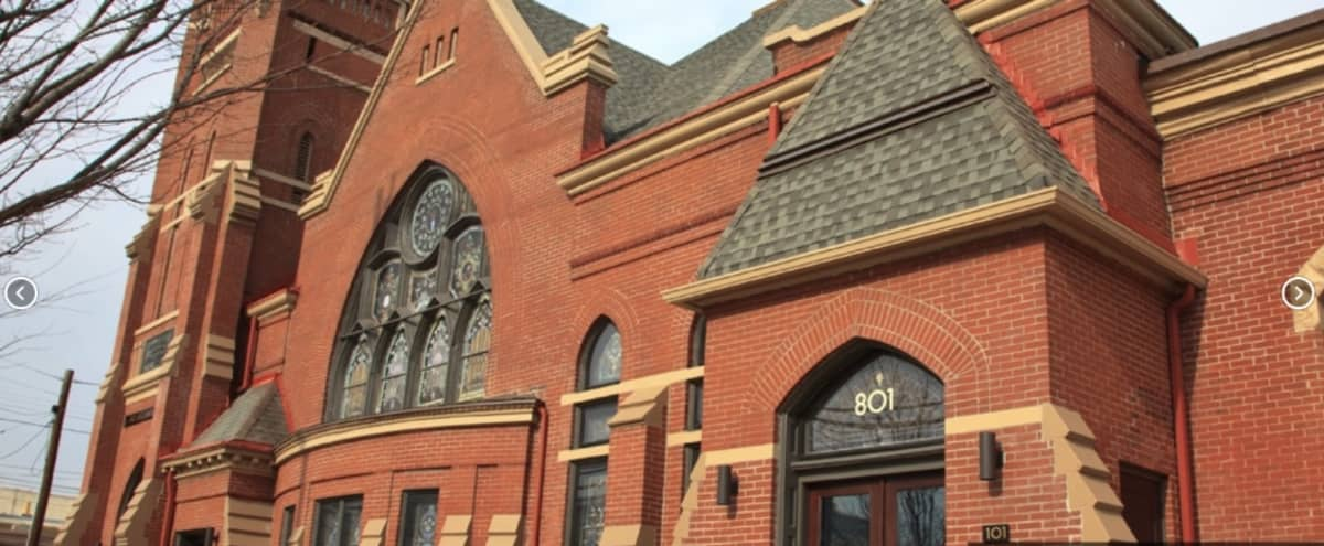 Repurposed Victorian-era church in popular Nulu district in Louisville Hero Image in Butchertown, Louisville, KY