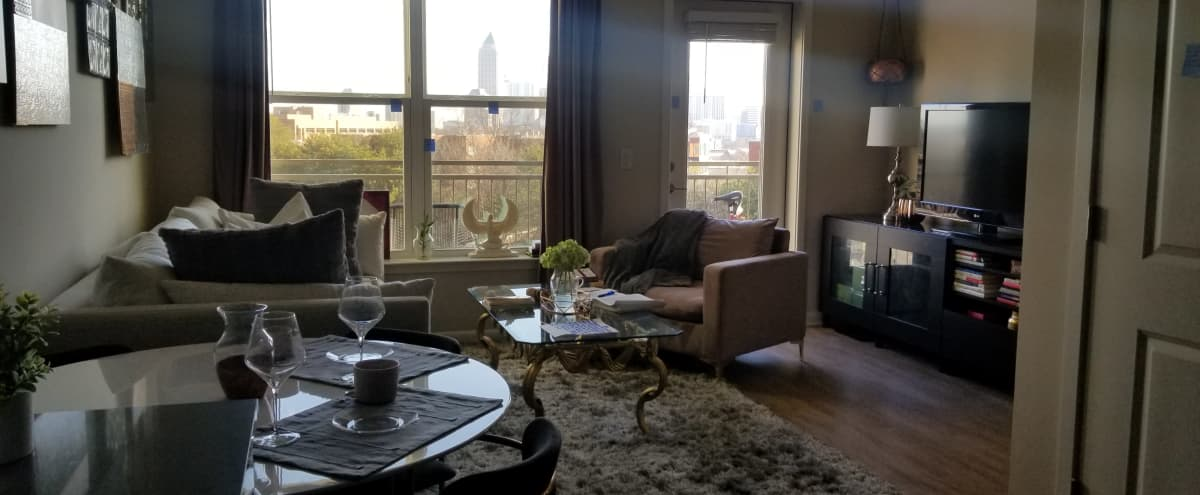 Luxury Midtown Studio with Skyline View in Atlanta Hero Image in Marietta Street Artery, Atlanta, GA