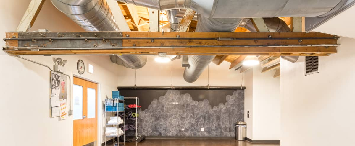 Meditation/Yoga Room Nestled in Dynamic Facility in Chicago Hero Image in West Loop, Chicago, IL