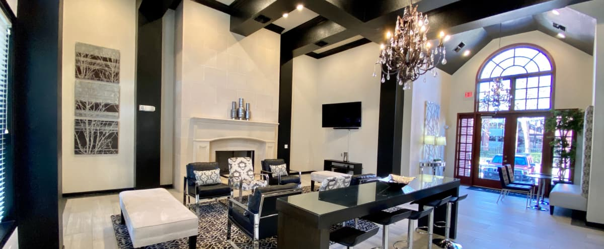 Spacious Event Space with Ample Seating and Gourmet Kitchen for Entertaining in Houston Hero Image in Braeswood Place, Houston, TX