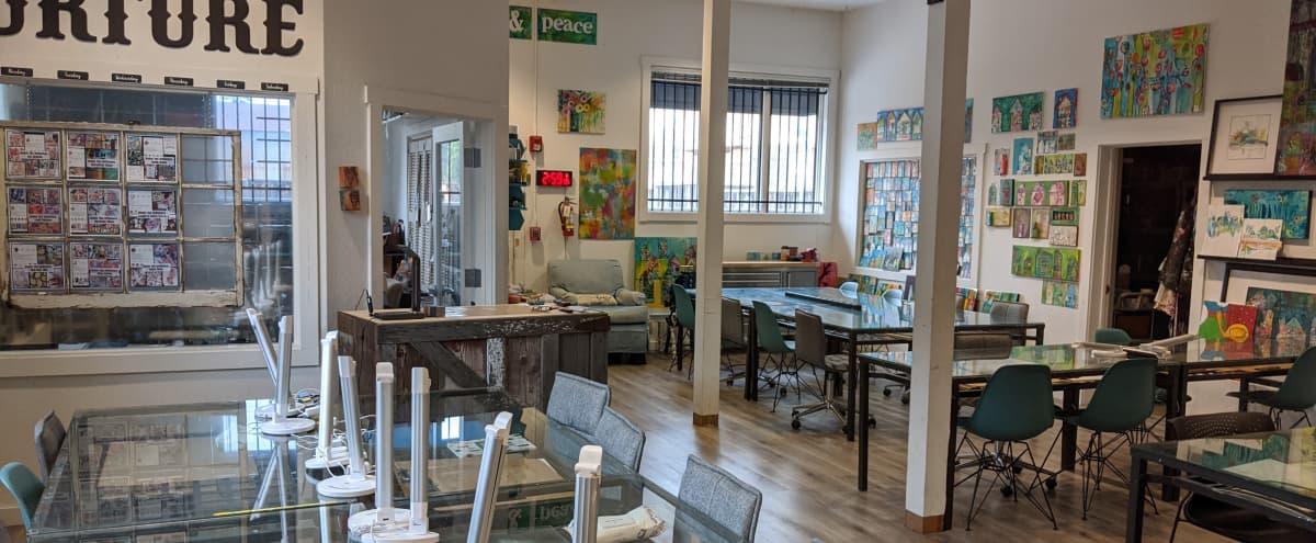 Creative Studio w/ Ample Seating + Projector in San Jose in San Jose Hero Image in Central San Jose, San Jose, CA