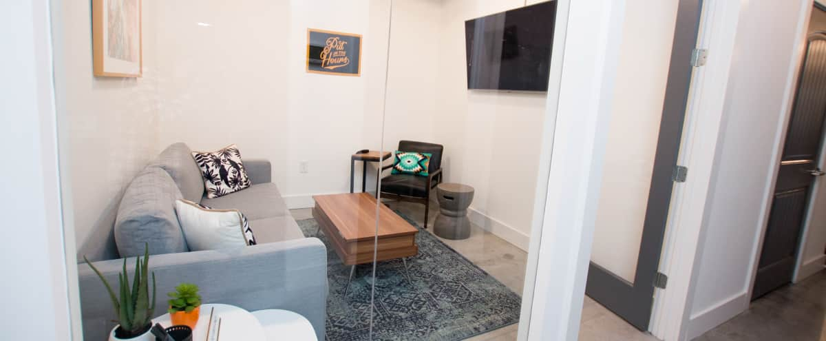 Living Room Style Meeting and Production Area in Alpharetta Hero Image in undefined, Alpharetta, GA