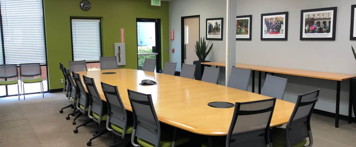 Conference Room w/Screen and Projector in Santa Rosa Hero Image in Wright Area Action Group, Santa Rosa, CA