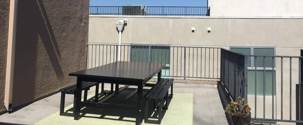 Spacious Two Floor Penthouse with Private Open Patio in Los angeles Hero Image in Central LA, Los angeles, CA