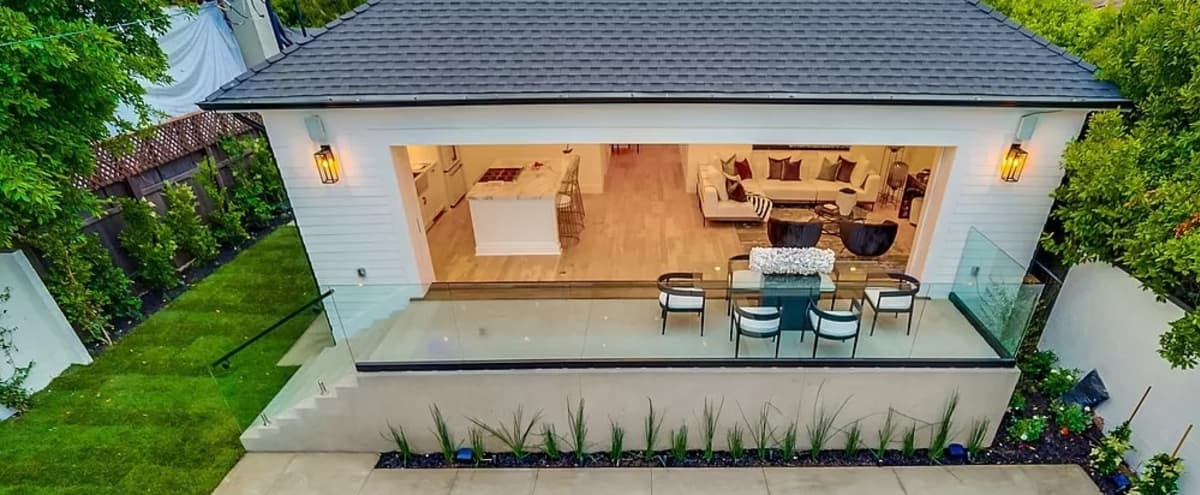 Stunning, Indoor/Outdoor Space with Pool & Hollywood Hills View in Los Angeles Hero Image in Hollywood, Los Angeles, CA
