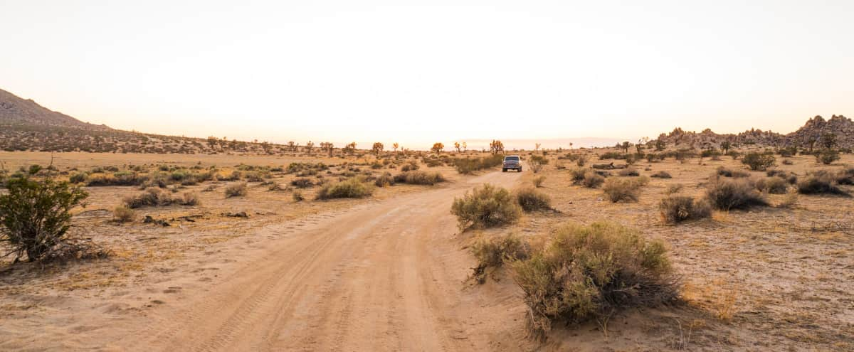 10-Acre Flat Desert Land with Parking in Lancaster Hero Image in undefined, Lancaster, CA