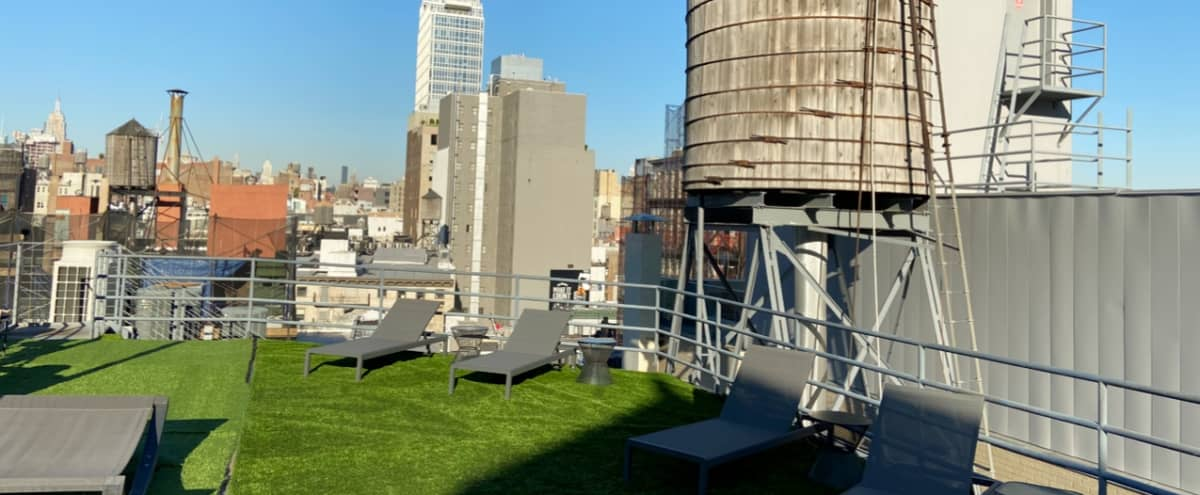 Huge multi level loft with private roof and water tower. in New York Hero Image in Chinatown, New York, NY