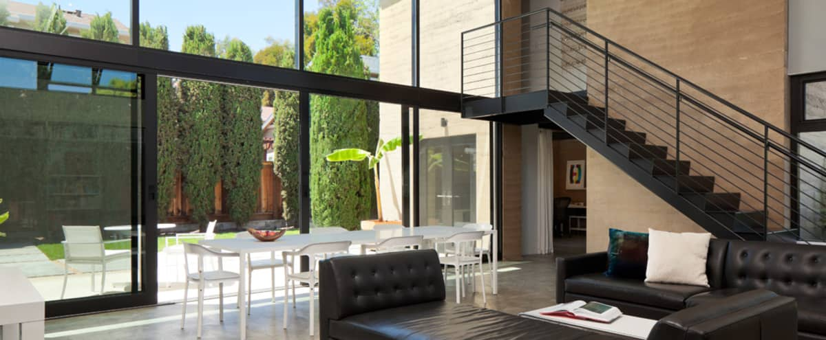 Contemporary Architectural Home in Silicon Valley in Mountain View Hero Image in Shoreline West, Mountain View, CA