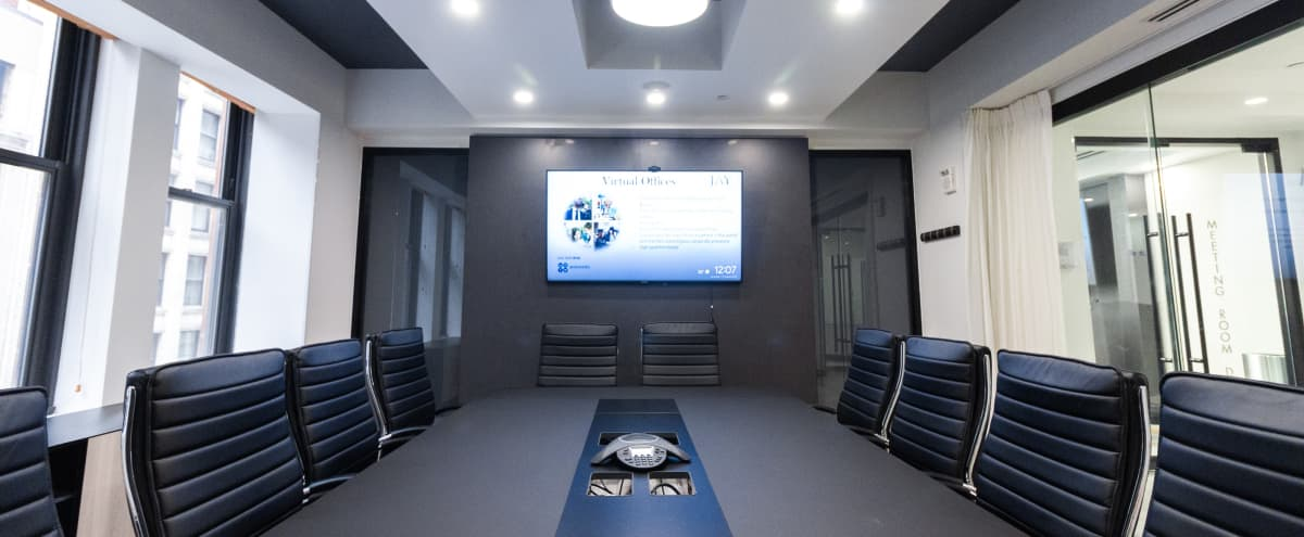 * 50% Off Promo *Awesome Modern Brand New 12 person Meeting Space with Windows - * 50% Off Promo * in New York Hero Image in Midtown Manhattan, New York, NY