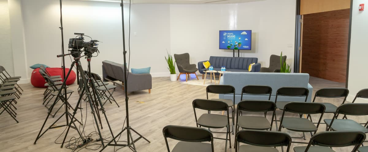 Workshop and Conference room available near to Wynwood in Miami Hero Image in Allapattah, Miami, FL