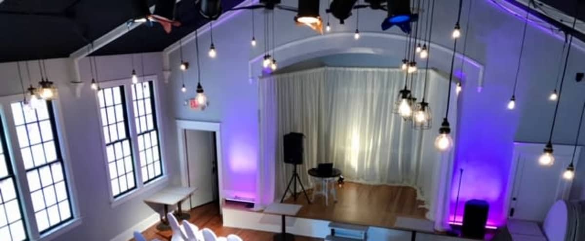Picturesque 1940's Church Renovated to Unique, One-of-a-Kind Event Space Located in Historic Downtown District in Buford Hero Image in undefined, Buford, GA