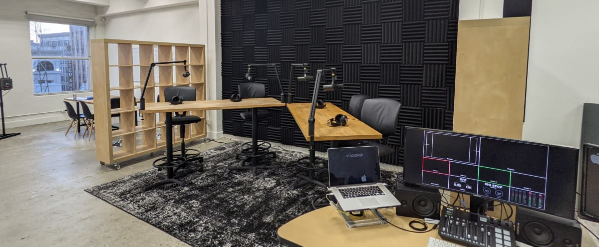 Podcast & Content Studio in Fashion District in Los Angeles Hero Image in Central LA, Los Angeles, CA