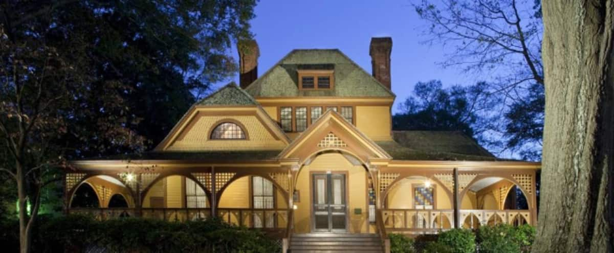 Historic Queen Victorian Home with Beautiful Garden Amphitheatre in Atlanta Hero Image in West End, Atlanta, GA