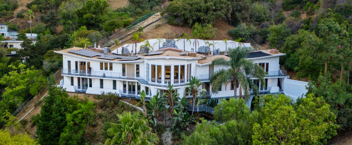 The Wings Mega Mansion In The Hollywood hills in Los angeles Hero Image in Central LA, Los angeles, CA
