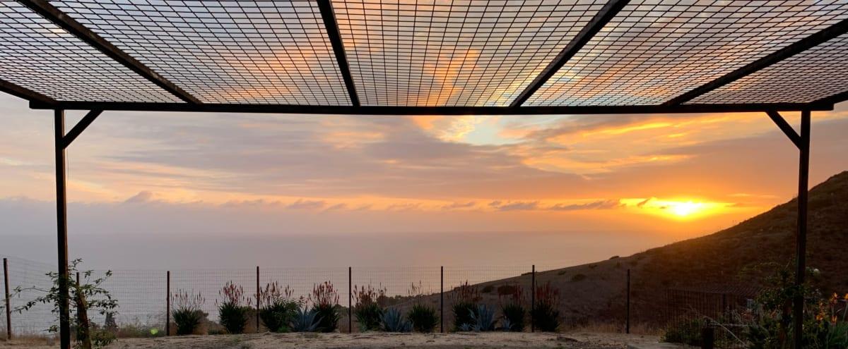 Stunning 180° Ocean View Event/Photo/Video Space, Incredible Natural Light, Sunset Views, White Backdrops in Malibu Hero Image in Western Malibu, Malibu, CA