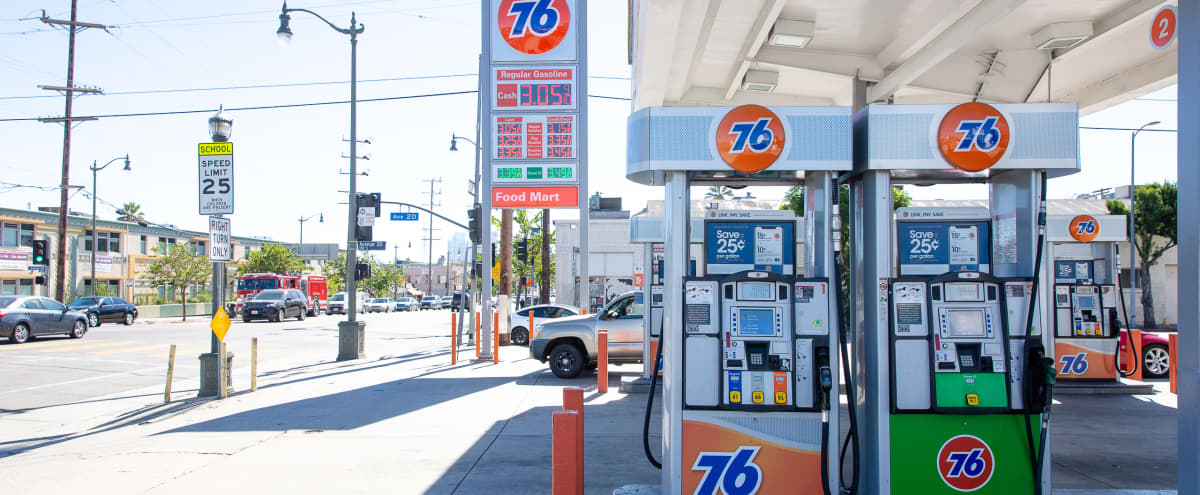 Scooter's Gas Station in Los Angeles Hero Image in Lincoln Heights, Los Angeles, CA