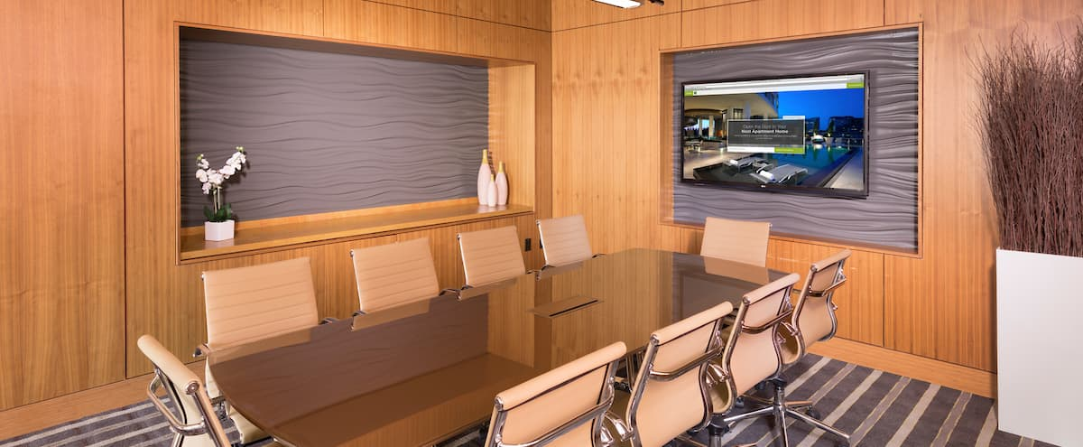 Elegant Executive Conference Room in Canton in Baltimore Hero Image in Canton, Baltimore, MD