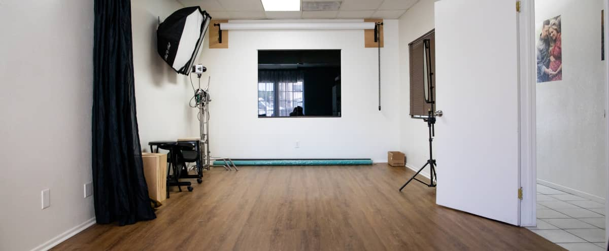 Intimate studio space with nice natural light for photoshoots in Fountain Valley Hero Image in undefined, Fountain Valley, CA
