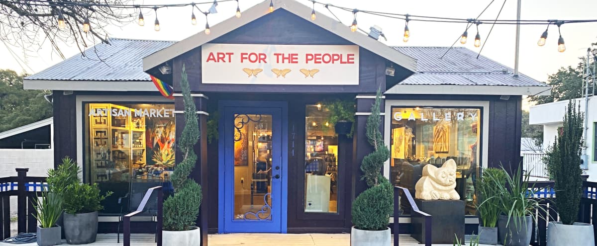 South 1st St: Ever-changing, One of a Kind Art Event Destination in Austin Hero Image in South Congress, Austin, TX