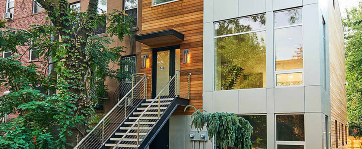 Modern Townhouse In Brooklyn in Brooklyn Hero Image in Clinton Hill, Brooklyn, NY