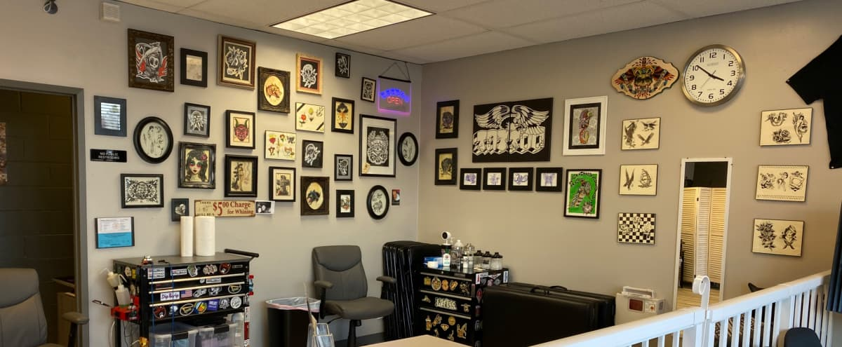 Tattoo Studio with Open Space in Orange Hero Image in undefined, Orange, CA