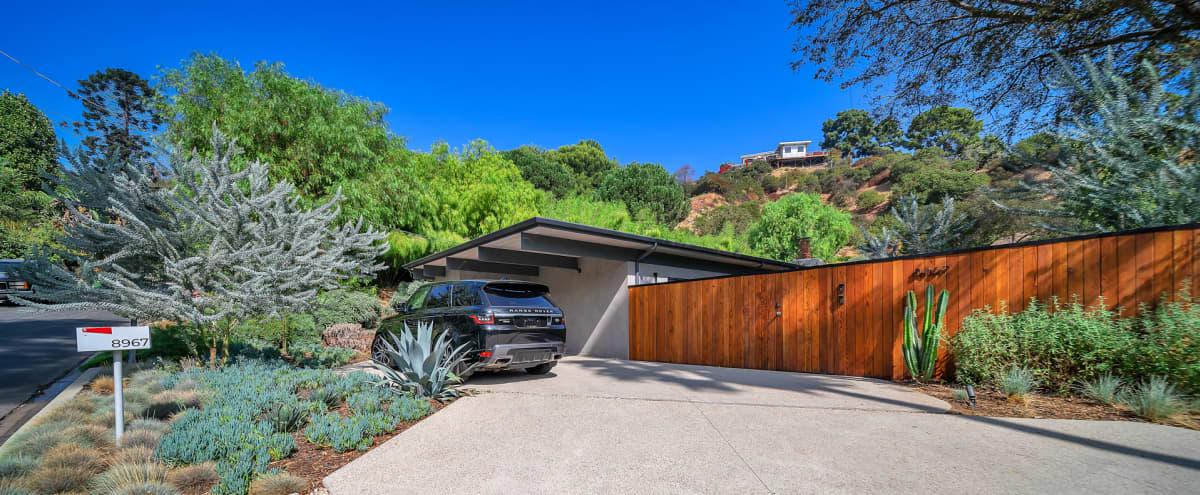 Hollywood Hills House Mid-century Modern With Magical Garden in Los Angeles Hero Image in Central LA, Los Angeles, CA