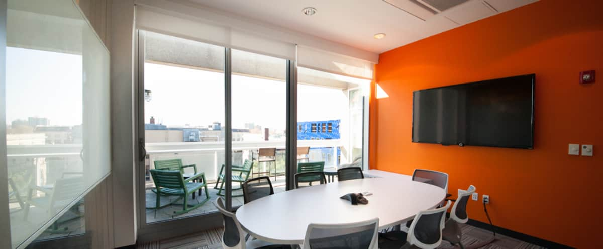 Modern Mid-Size Meeting Space in Cambridge in Cambridge Hero Image in Mid-Cambridge, Cambridge, MA