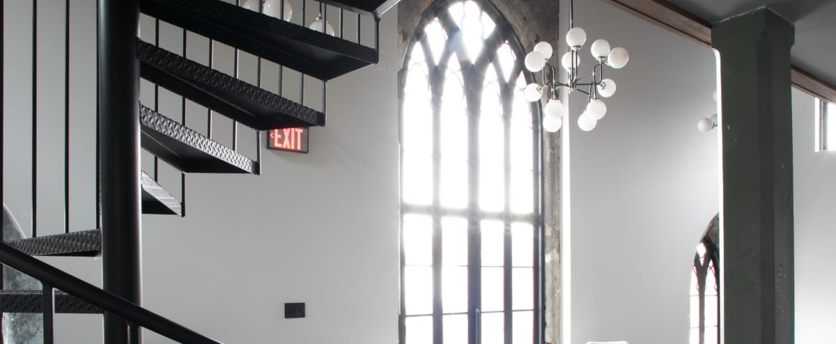 Renovated Church and Bookstore with Historic Windows and Choir Loft in Louisville Hero Image in East Market District, Louisville, KY