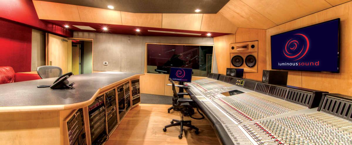 Beautiful and Spacious Recording Studio For Listening & Studio Events in Dallas Hero Image in Far North Dallas, Dallas, TX