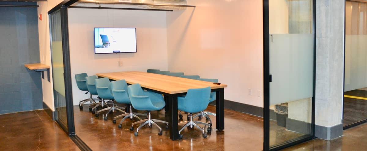 Meeting Room for 11 * Walking Distance to PCM + Beltline in Atlanta Hero Image in Old Fourth Ward, Atlanta, GA