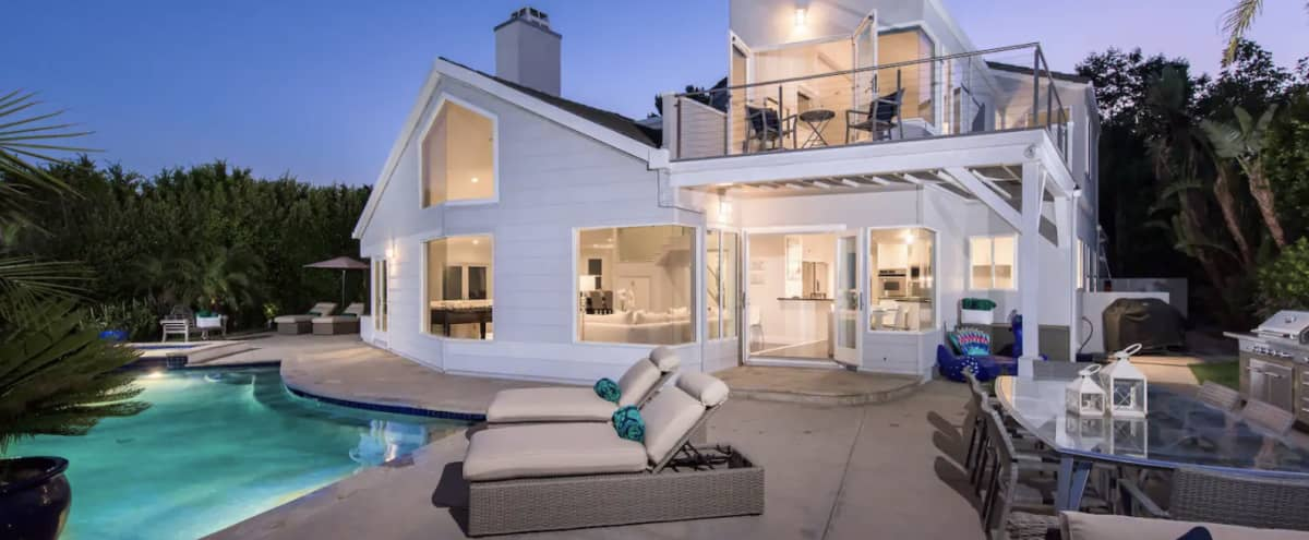 Contemporary Malibu Ocean View Home in Malibu Hero Image in Central Malibu, Malibu, CA