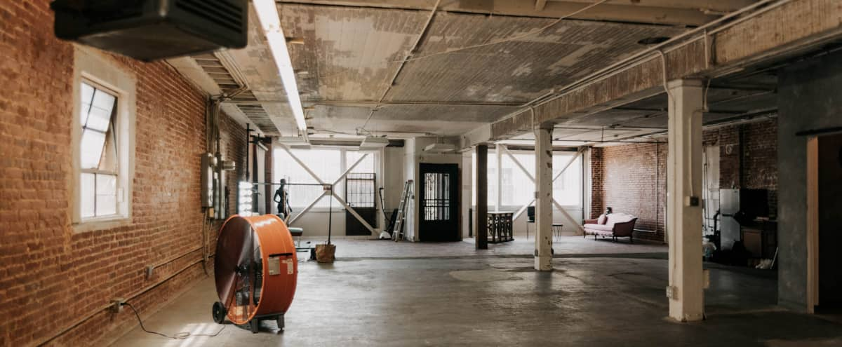 Downtown LA Industrial Warehouse Location for Production in Los Angeles Hero Image in Central LA, Los Angeles, CA