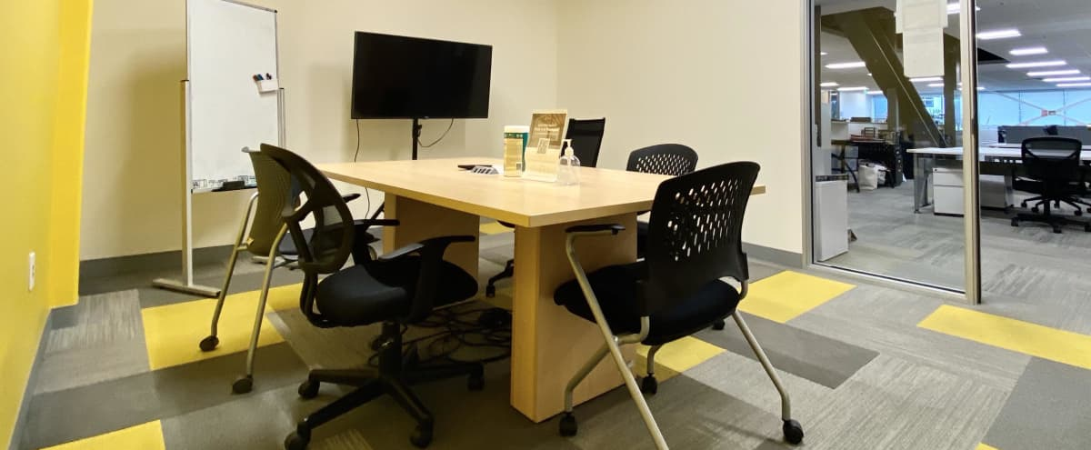 Private Meeting Room for 4 near Santa Clara Convention Center in Santa Clara Hero Image in undefined, Santa Clara, CA