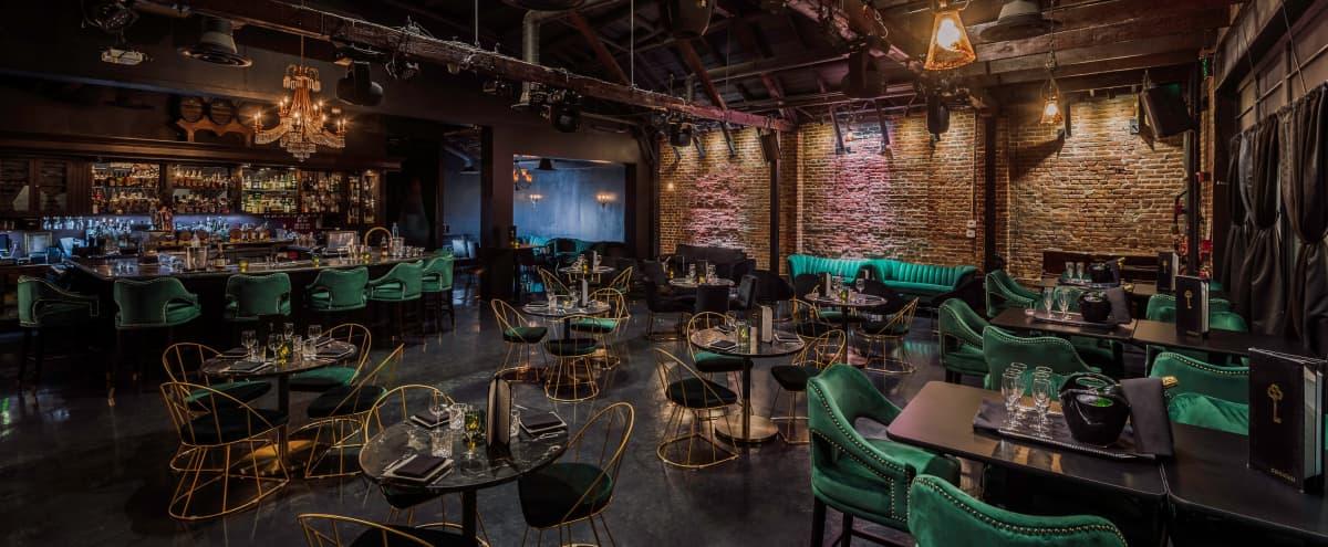 industrial meets modern design lounge in Los Angeles Hero Image in Hollywood, Los Angeles, CA