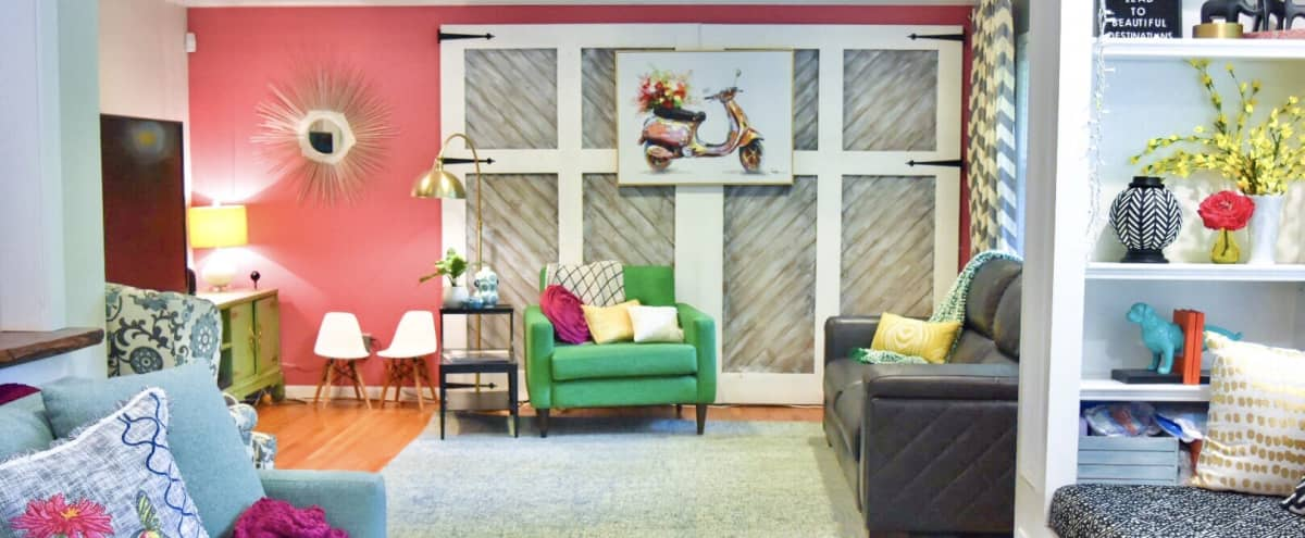 Bright colorful artistic home. Great natural light with lots of character. in Tucker Hero Image in undefined, Tucker, GA