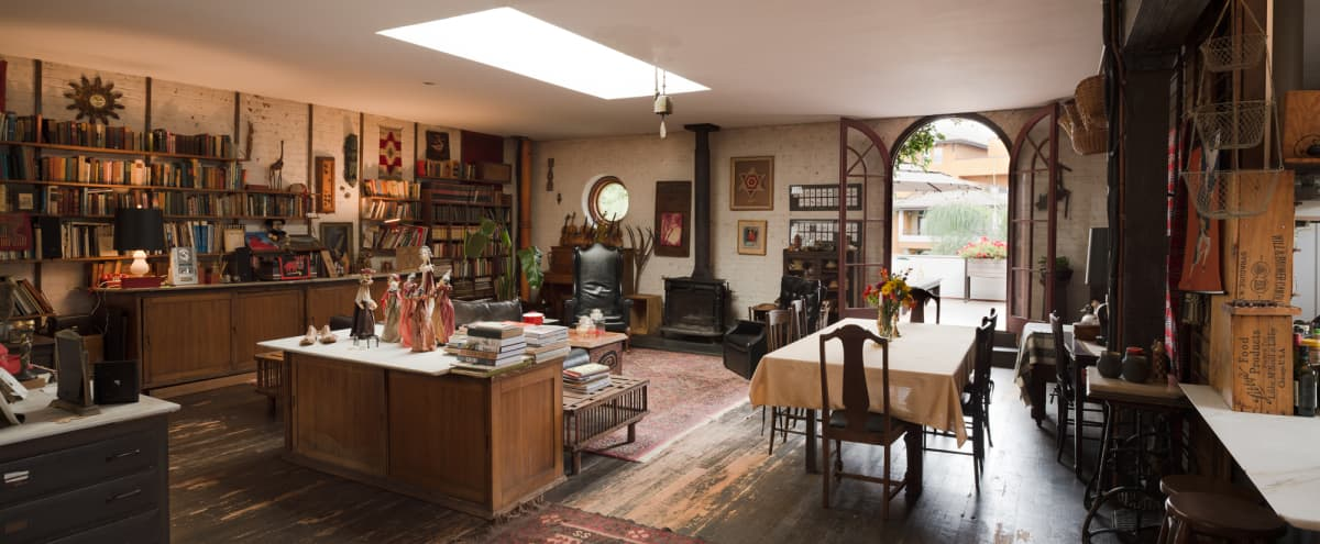 Historic Spacious Spanish Colonial Design Studio w/ Great Lighting in Los Angeles Hero Image in La Brea, Los Angeles, CA