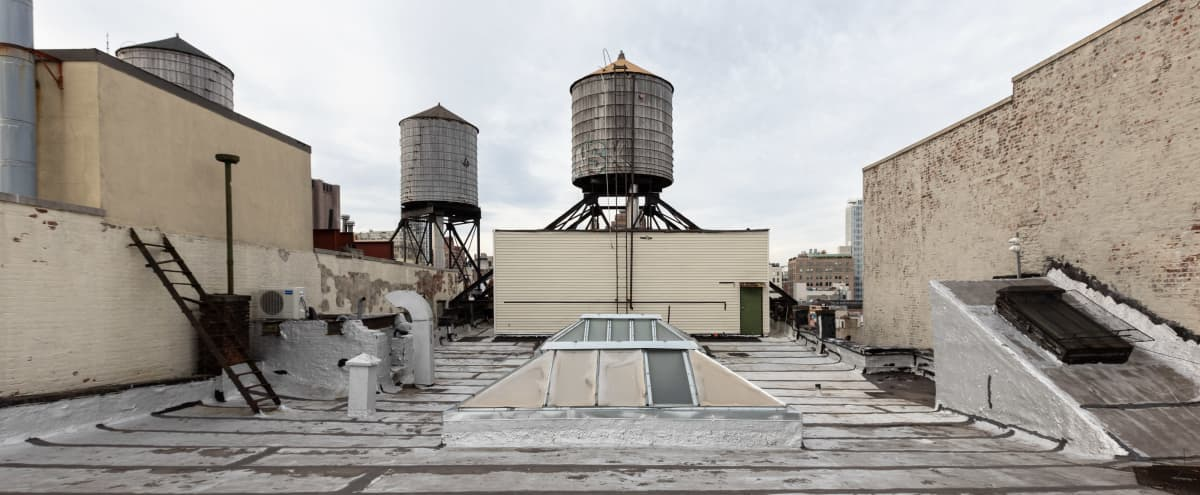 Film/Photo Location: Rooftop Location in New York Hero Image in Chinatown, New York, NY