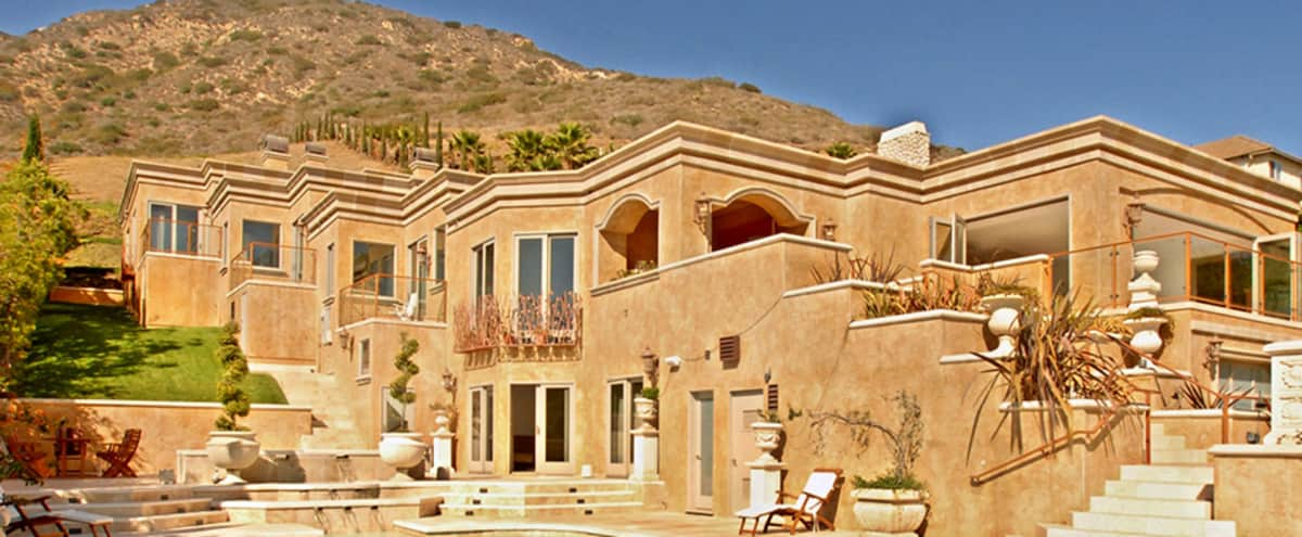 Villa Calcare - Luxury Home, Perfect for Shoots in Malibu Hero Image in Western Malibu, Malibu, CA