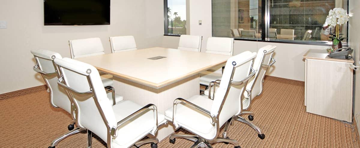 Elegant Meeting Room For 4 Located in The Biltmore in Phoenix Hero Image in Camelback East Village, Phoenix, AZ