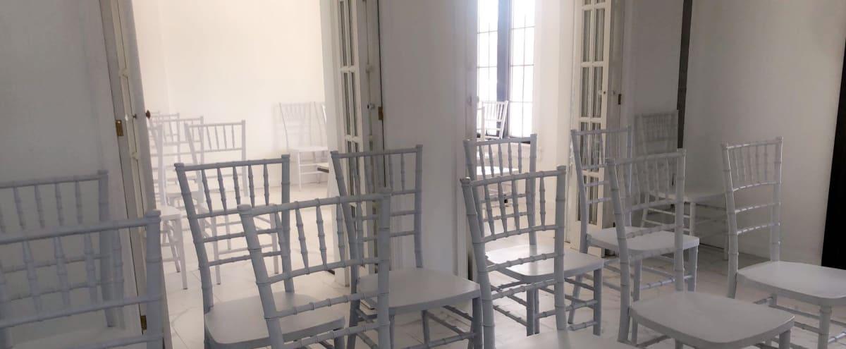 Beautiful All-White Photo Studio & Event Space w/ Full Kitchen in Springfield Gardens Hero Image in Brookville, Springfield Gardens, NY