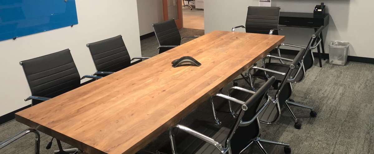 Modern Equipped Meeting Room for 8 in Minneapolis Hero Image in Downtown West, Minneapolis, MN
