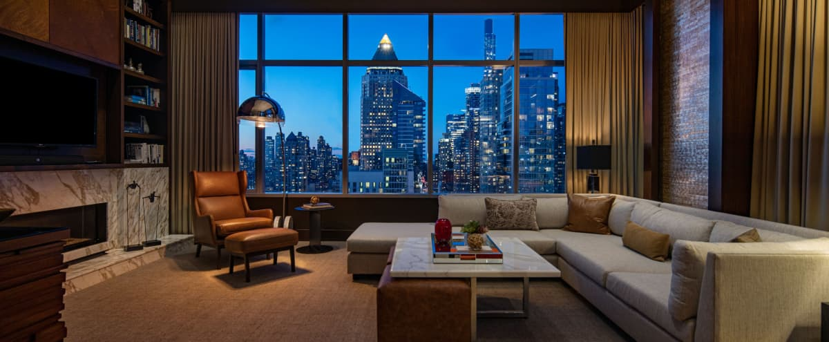 Luxury Urban Penthouse with Skyline View in New York Hero Image in Midtown Manhattan, New York, NY