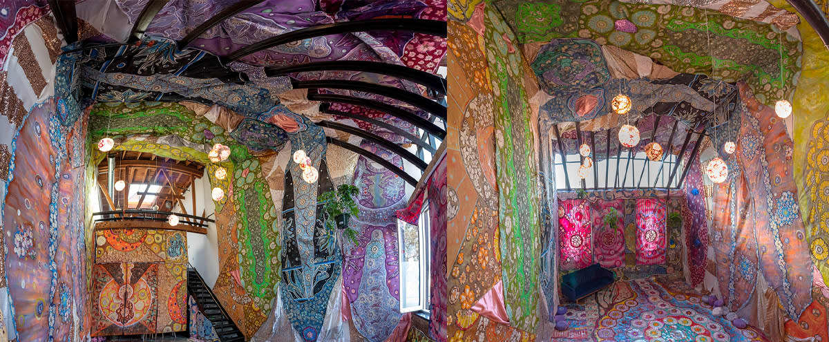 Art Installation & Gallery - colorful, immersive, psychedelic, artist dream loft in Los Angeles Hero Image in Northeast Los Angeles, Los Angeles, CA
