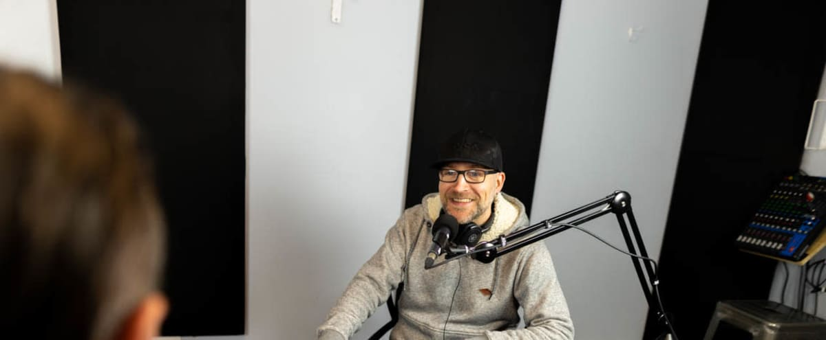 Professional Podcast Studio with Pro Equipment in Vancouver Hero Image in East Vancouver, Vancouver, BC