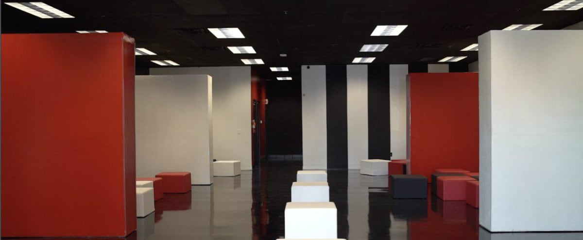 Sleek Spacious Gallery with Movable Walls in las vegas Hero Image in undefined, las vegas, NV