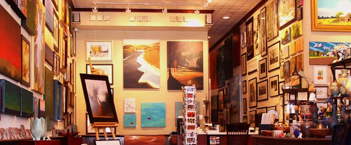 Art Gallery Showcasing Local Chicago, Fine Art in Historic Lakeview Neighborhood in Chicago Hero Image in Lake View, Chicago, IL
