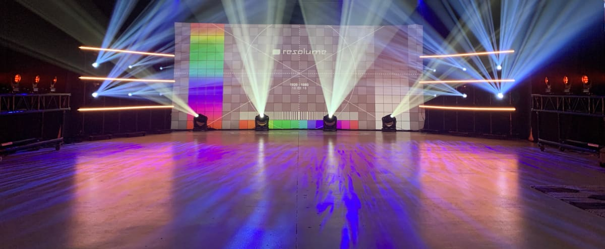 Concert Stage Studio With Lighting in Glendale Hero Image in Vineyard, Glendale, CA