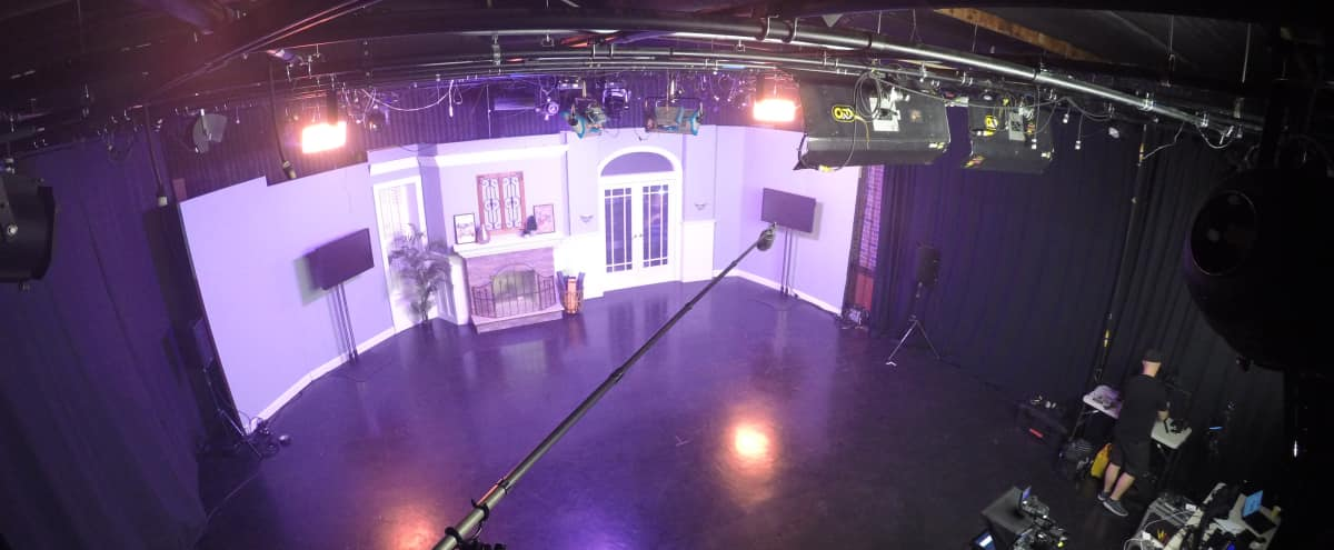 Professionally designed TV Studio and Sound Stage in Burbank Hero Image in North Hollywood, Burbank, CA