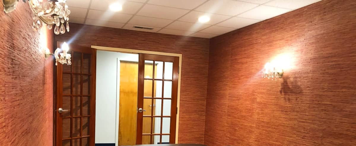 Downtown Conference Room with Kitchen Included in Bridgeport Hero Image in North End, Bridgeport, CT