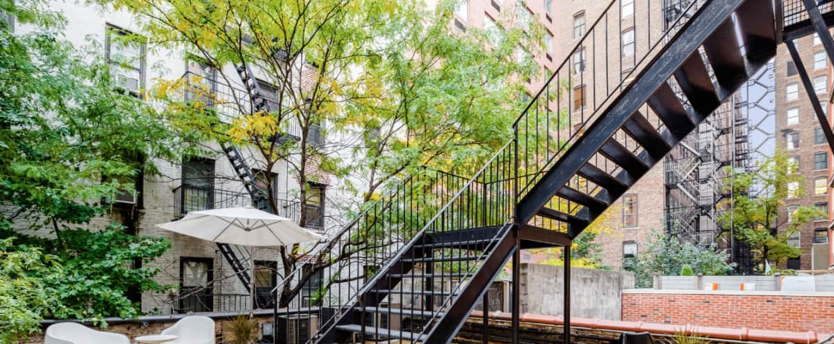 Classic Loft in Heart of Chelsea: over 2000 sq ft with large outdoor space and full kitchen in New York Hero Image in Midtown, New York, NY
